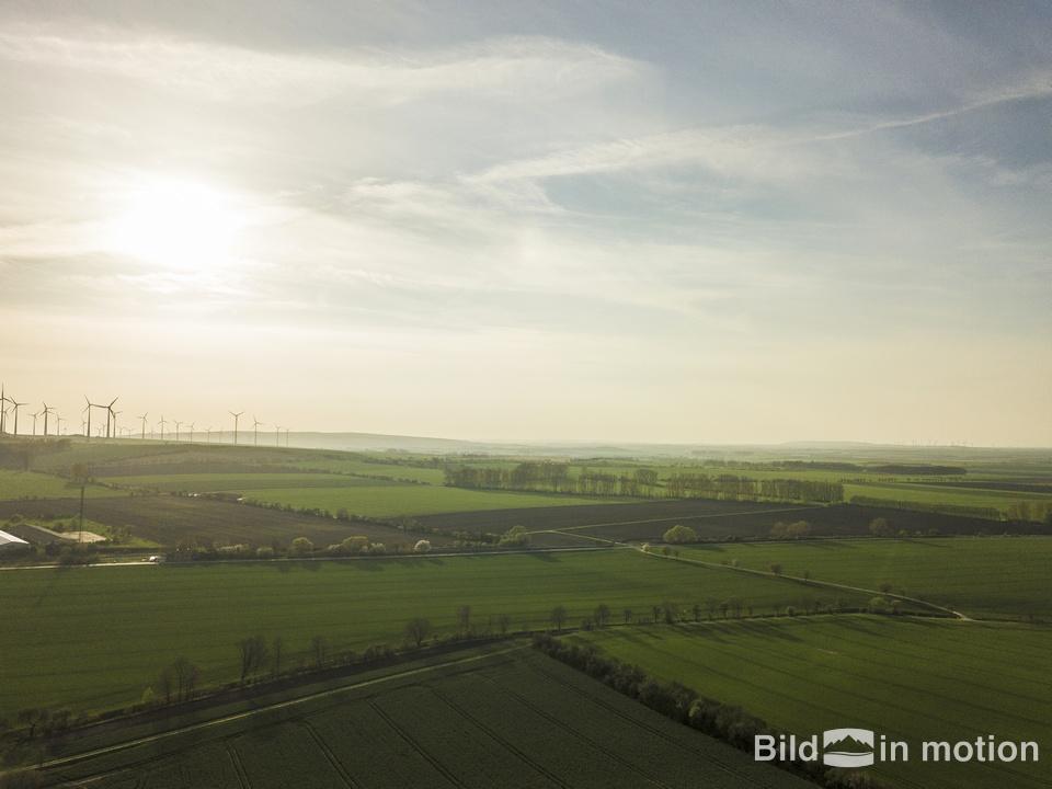 Badersleben Huy Drohne von oben