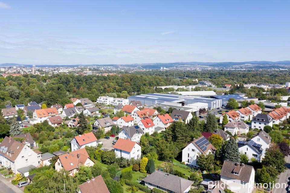 Drohne Stadt Landschaft