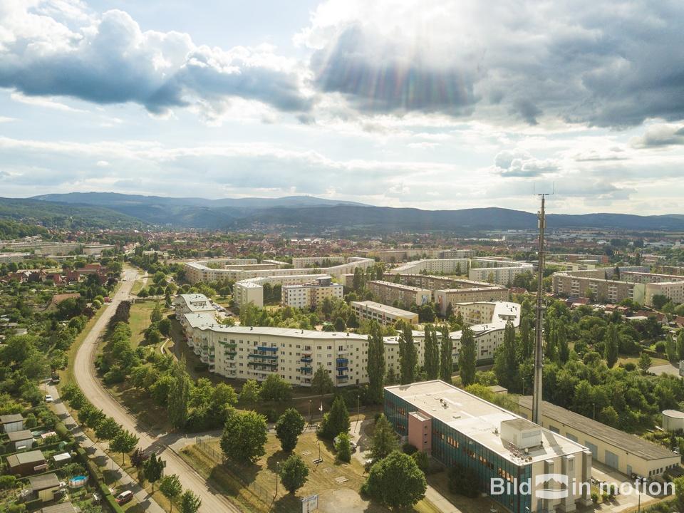 Immobilien in Neuwegersleben mit Drohne aus Vogelperspektive