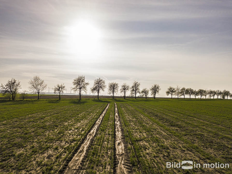 Landschaft Huy Anderbeck Drohne