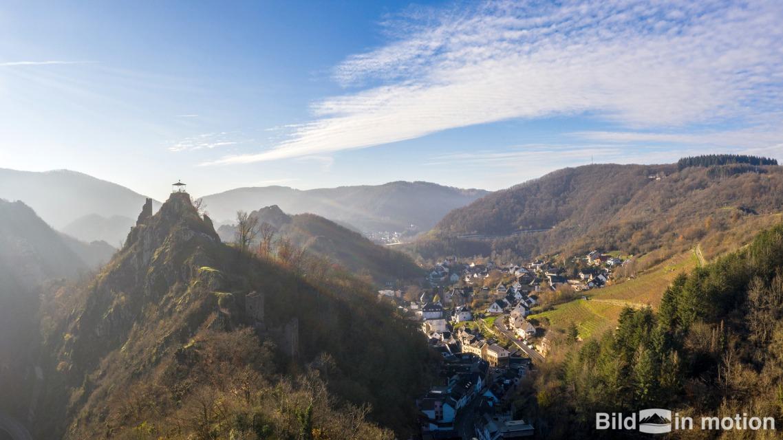 Landschaftsbilder von oben mit Drohne