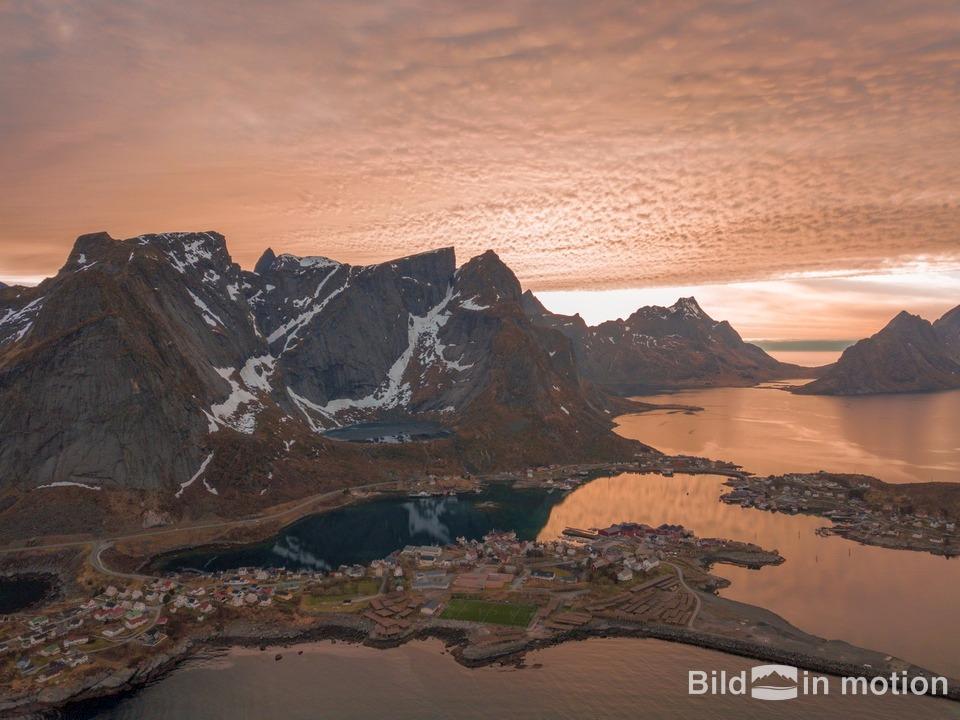 Landschaftsfotografie Drohne Norwegen