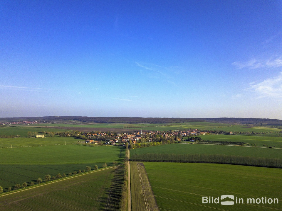 Luftbild Anderbeck Huy Drohne