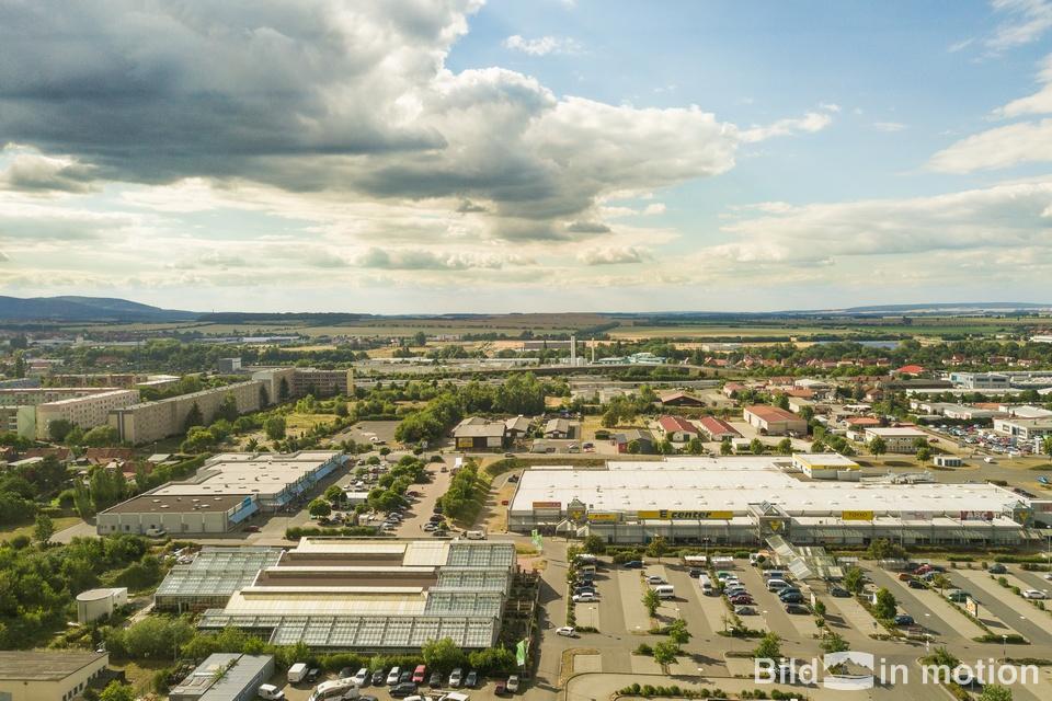 Luftbild Drohne Gewerbepark Wernigerode
