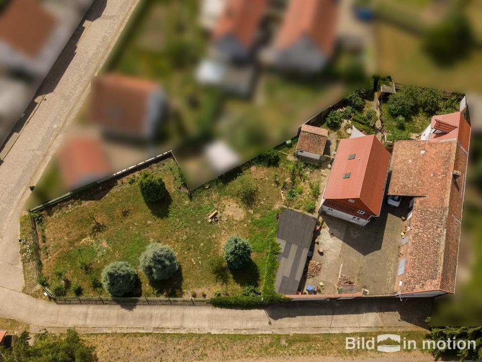 Luftbildfotografie Drohne Grundstück von oben