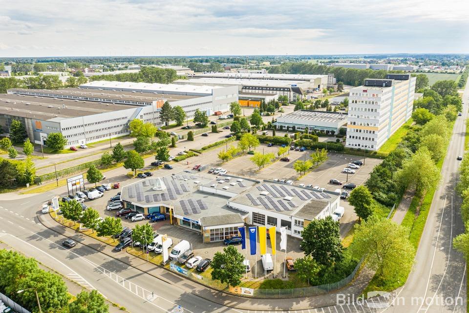 Für Luftbildfotografie Gewerbepark gewerblich eine Drohne mieten