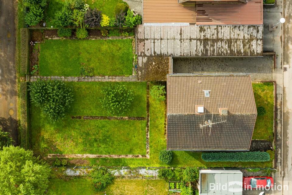 Drohne Drohnenbild Grundstueck von oben Immobilienfotografie