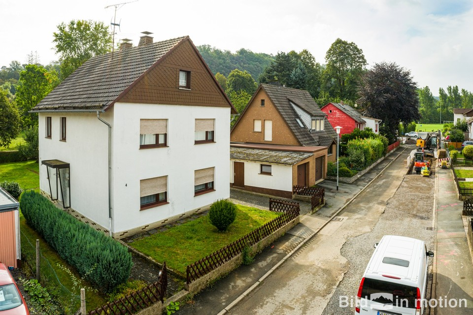 Immobilien Fotograf Luftbild Haus Einfamilienhaus Drohne